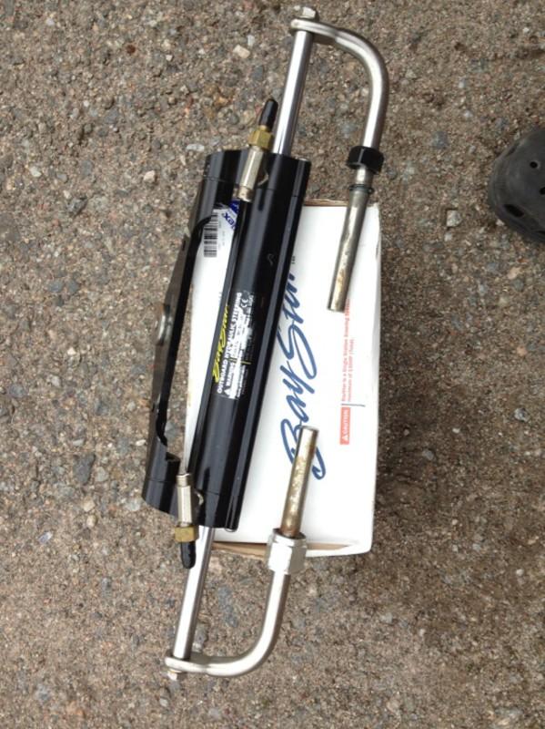 Myydään baystar hydrauliohjaus